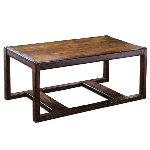 Deni Wooden Coffee Table