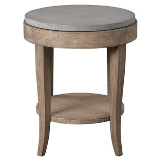 Deka Round Accent Table