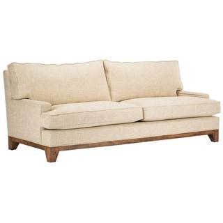 Jaxon Kirby Beige Upholstered Sofa