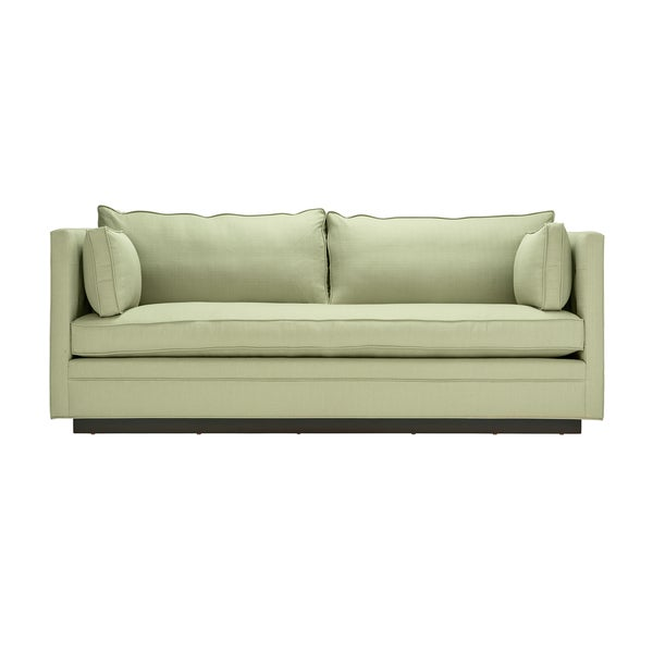 Lamar Light Green Upholstered Sofa