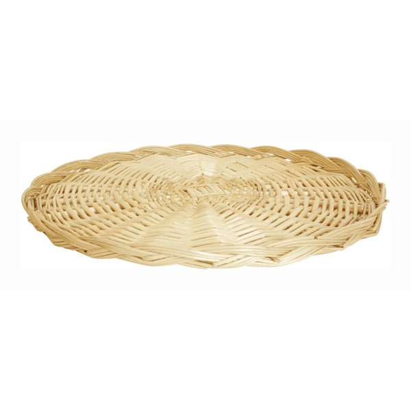 SET OF 12 Small Wicker Trays