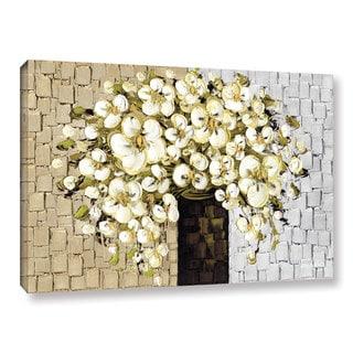 ArtWall Susanna Shaposhnikova's White Bouquet 2, Gallery Wrapped Canvas