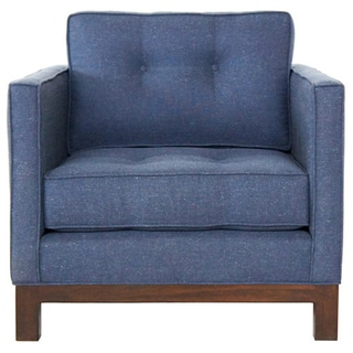 Jaxon Marley Blue Upholstered Armchair