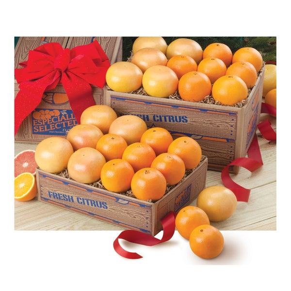 Navel Oranges and Ruby Red Grapefruit Gift Pack