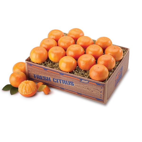 Fresh Florida Tangerines Fruit Box