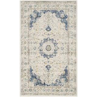 Safavieh Evoke Ivory/ Blue Vintage Area Rug (3' x 5')