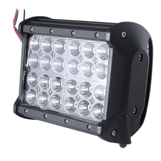 7-inch 72W 4 Row Combo Beam Work Square Spot Flood Light 4X4 Offroad Lamp