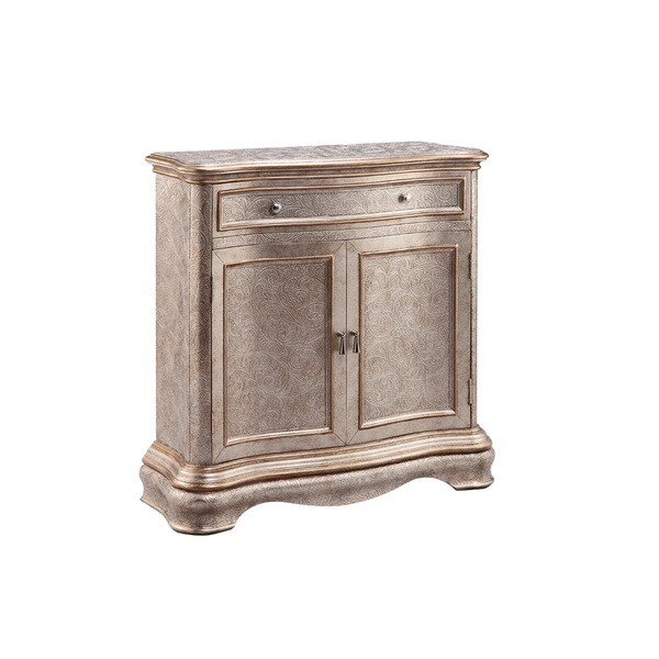 Jules Champagne Accent Cabinet