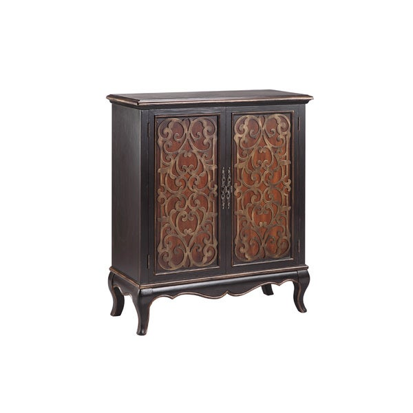 Jamie Black Accent Cabinet