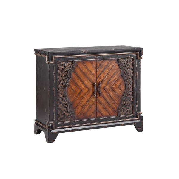 Rayne Black Accent Cabinet