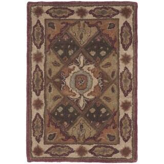 Safavieh Hand-Tufted Heritage Rust/ Ivory Wool Rug (2' x 3')