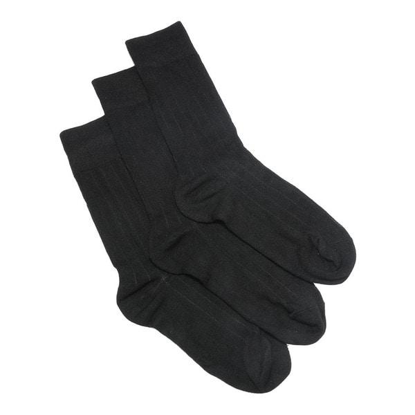 Florence Men's Extra Soft Modal Textured Dress Socks