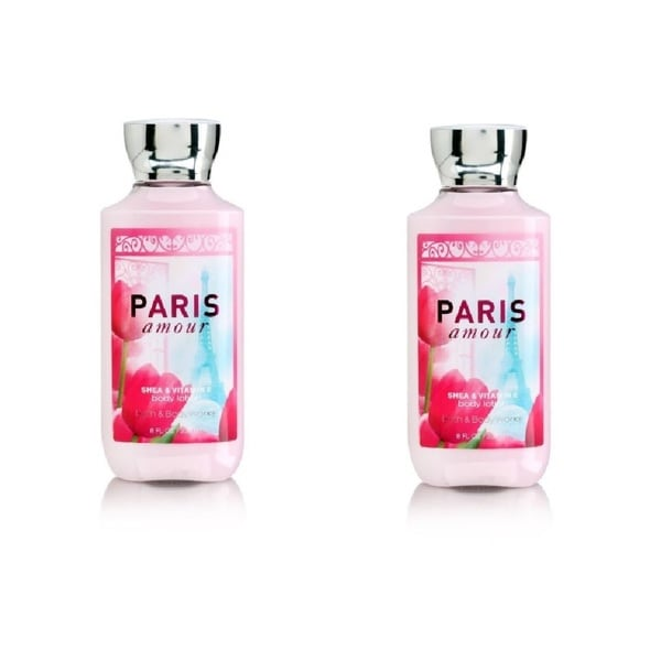 Bath and Body Works Paris Amour 8-ounce Body Lotion (Pack of 2)