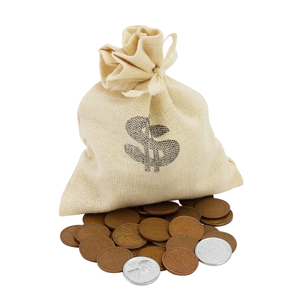 American Coin Treasures Bankers Bag of World War II Coins