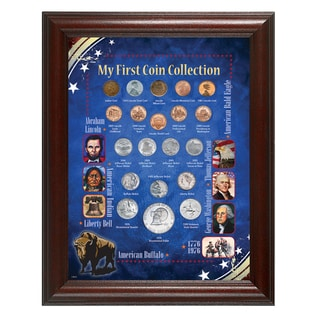 American Coin Treasures My First Coin Collection Framed