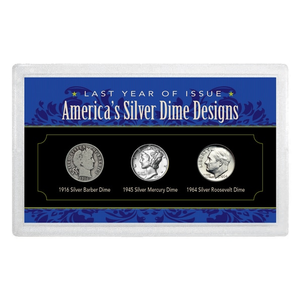 American Coin Treasures Last Year of Issue America's Silver Dimes
