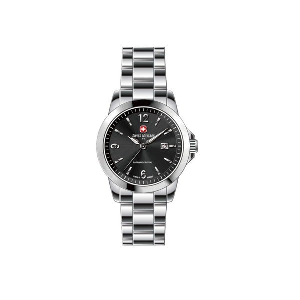 Swiss Military by R 54006 3 N Alpha Women's Black Dial Watch