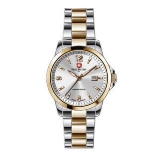 Swiss Military by R 54006 357J A Alpha Women's Two-Tone Stainless Steel Watch with pocket military knife