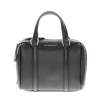 Burberry Alchester in Grainy Leather Small Bowler Handbag