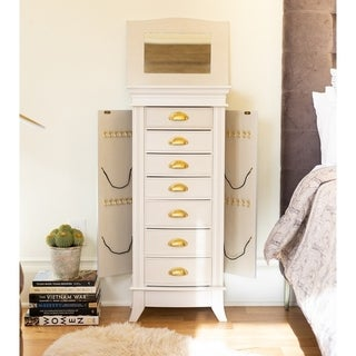 Hives & Honey Hillary White Jewelry Armoire
