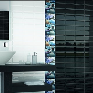SomerTile 4x8-inch Thera Biselado Blanco Ceramic Wall Tile (Case of 50)