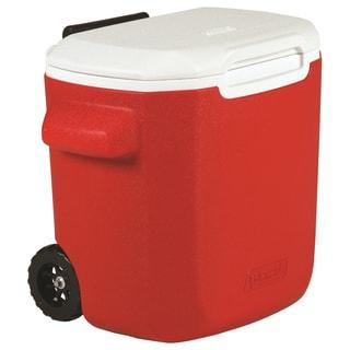 Coleman Red 16-quart Wheeled Cooler
