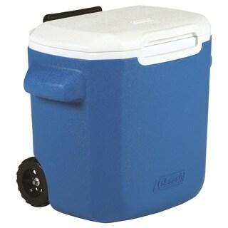 Coleman Blue 16-quart Wheeled Cooler
