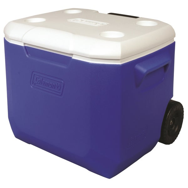 Coleman Blue 60-quart Wheeled Cooler