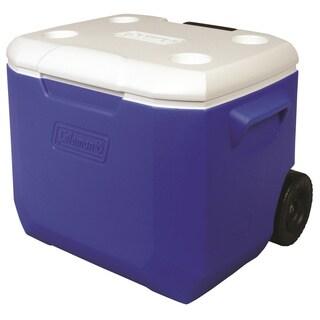 Coleman Blue 60-quart Wheeled Cooler