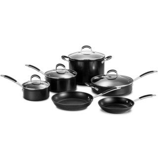 Momscook Premium Induction Compatible Nonstick 10-piece Cookware Set