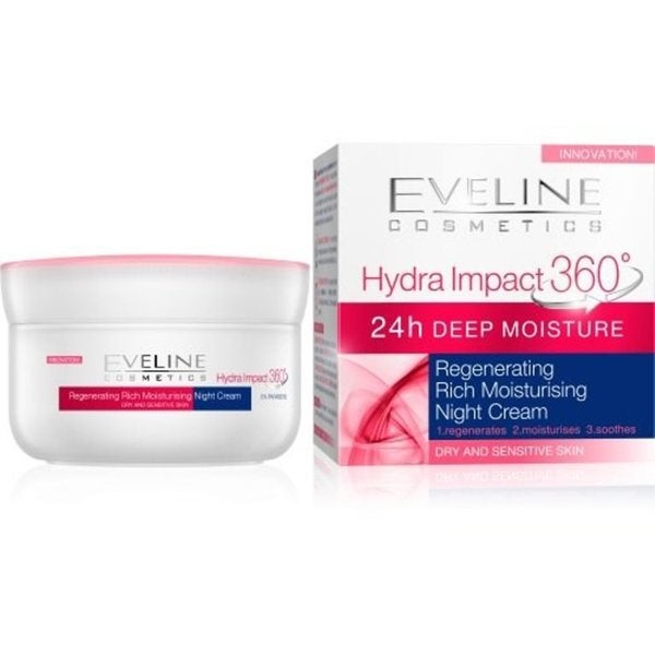 Eveline Hydra Impact 360 Regenerating Rich Moisture Night Cream