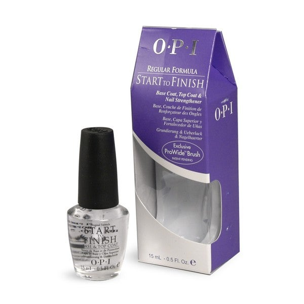 OPI Start To Finish Base Coat and Top Coat