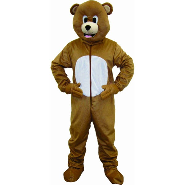 Dress Up America Child 'Brown Bear' Costume in Large (As Is Item)