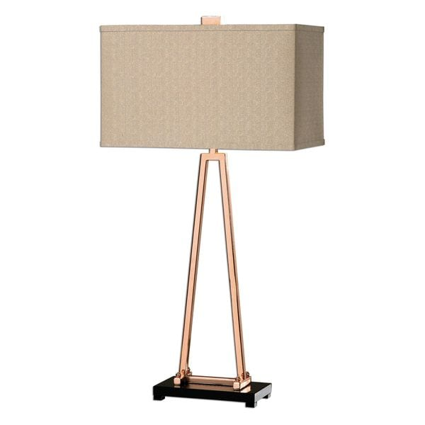 Rashawn Rose Gold Lamp