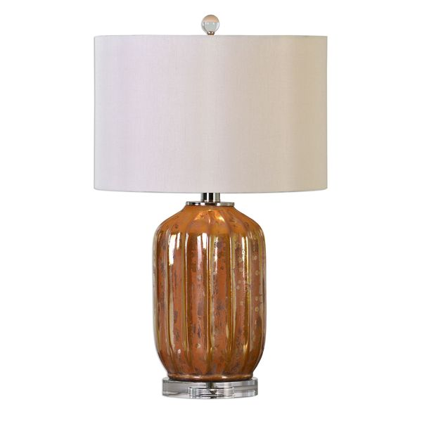 Tiber Rust Bronze Lamp