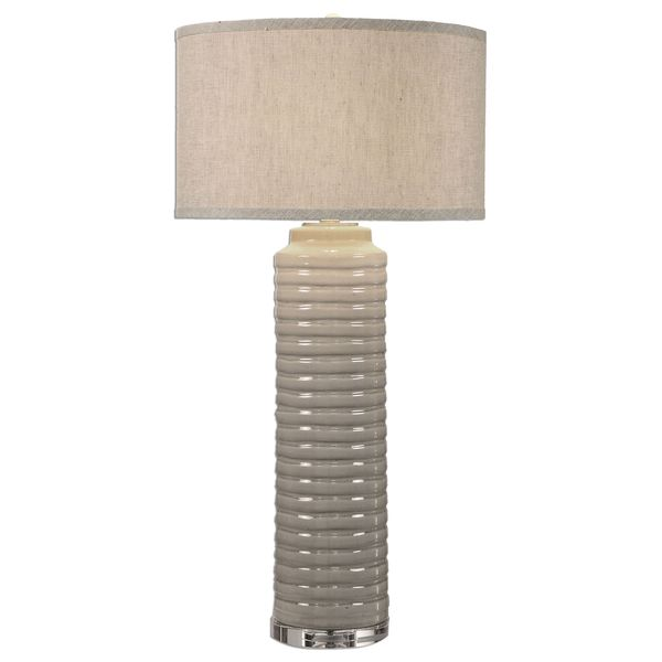 Yana Ribbed Cylinder Lamp 17037133