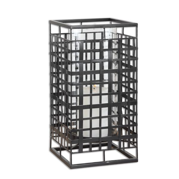Caged In Metal Candleholder 17037276