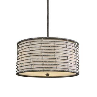 Smida 3-light Rustic Hanging Shade