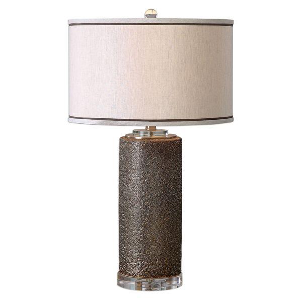 Varaita Metallic Bronze Table Lamp