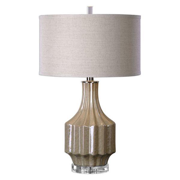 Barron Sand Brown Table Lamp 17037366