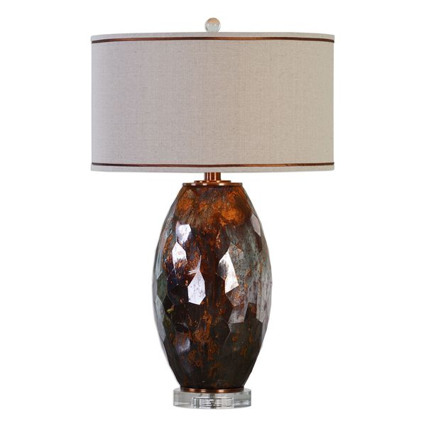 Sabastian Bronze Glass Table Lamp