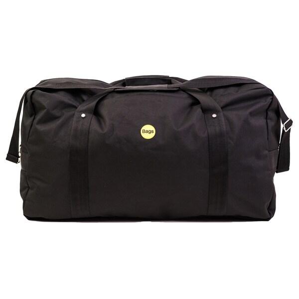 Bags Clebourne 28-inch Black Cargo Duffel