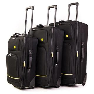 Bags Stonebridge 3-piece Rolling Upright Luggage Set