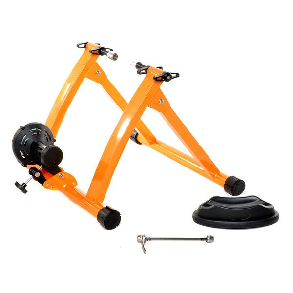 Conquer Indoor Orange Bicycle Cycling Trainer Exercise Stand