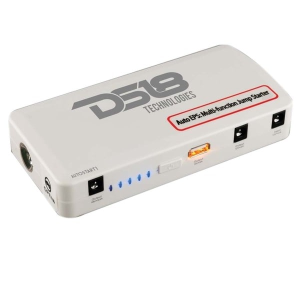 DS18 Autostart 14,000mAh Jump Starter/ Battery Pack with Charging Cables