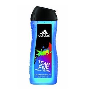 Adidas Team Five Special Edition 2-in-1 Hair and Body Shower Gel