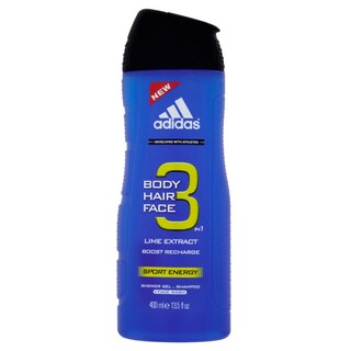 Adidas Sport Energy Lime Extract 3-in-1 Body, Hair, and Face Shower Gel