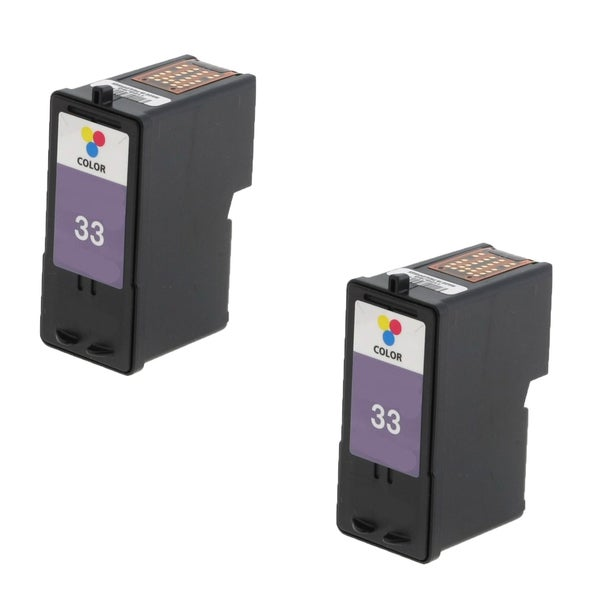 2 Pack Lexmark 18C0033 #33 Compatible Ink Cartridge For Lexmark Z810 Z812 ( Pack of 2 )