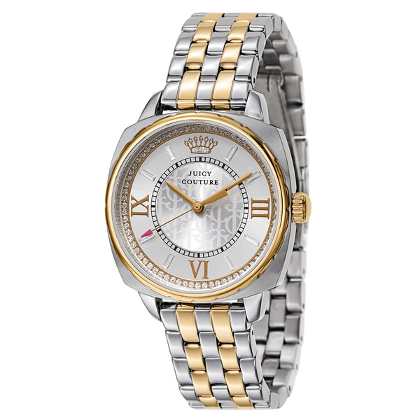 Juicy Couture Women's 1901271 Beau Two-tone Stainless Steel Watch