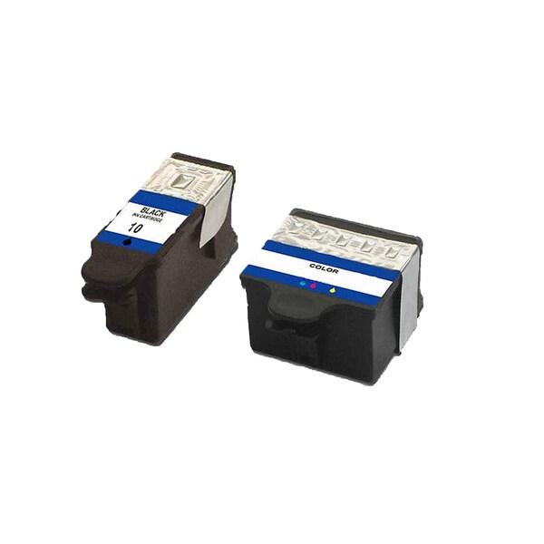 1 Set Kodak 1215581 #10 Black 1810829 #10 Color Compatible Ink Cartridge For Kodak Easyshare 5100 5300 ( Pack of 2 )
